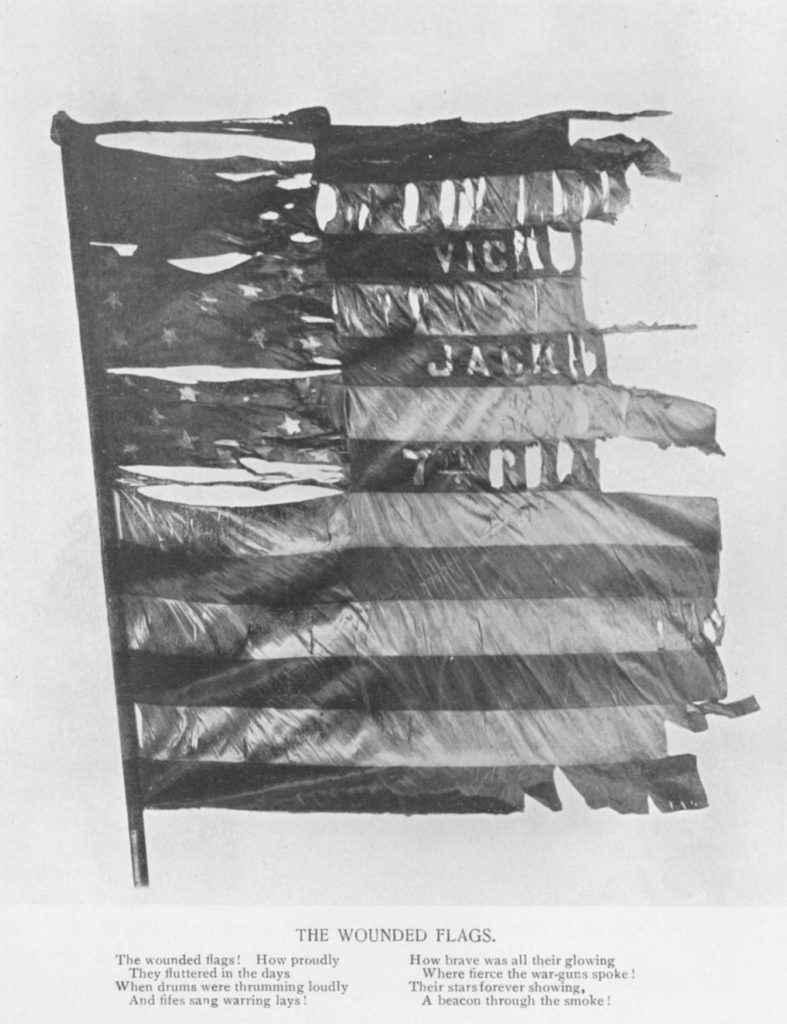 The Wounded Flags