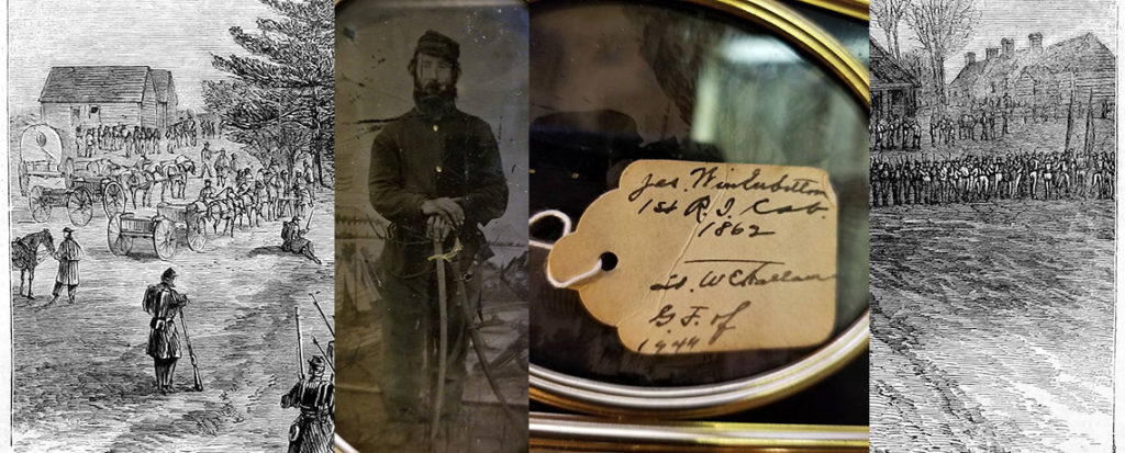[FEATURED EXHIBIT] American Civil War Tin Type of Rhode Island's James Winterbottom