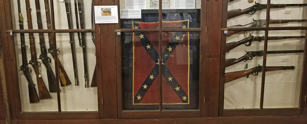 [FEATURED EXHIBIT] Latham Artillery Battery Confederate Guidon