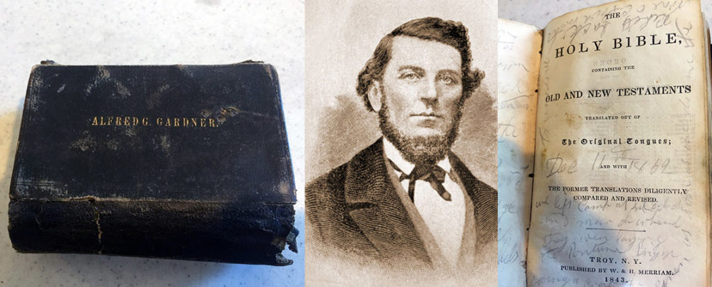[FEATURED EXHIBIT] Bible of Alfred G. Gardner, American Civil War Hero