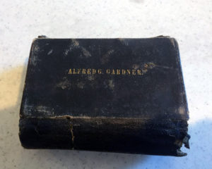 Bible of Private Alfred G. Gardner