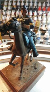Scale-Model of a U.S. Civil War Union Cavalryman