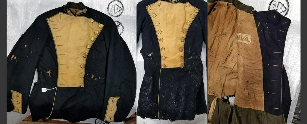 Before and After: H.V. Allen's Kentish Guard uniform jacket