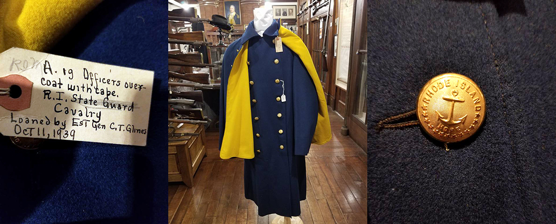 [FEATURED EXHIBIT] Model 1885 Cavalry Officer's Great Coat with Cape