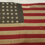 [FEATURED EXHIBIT] World War I American Flag that Flew in France