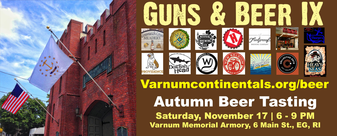 GUNS & BEER IX BEER TASTING FUNDRAISER (November 17, 2018)