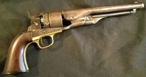 .44 caliber Model 1860 Army revolver at the Varnum Armory