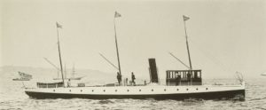 USS Stiletto as private yacht (1887)