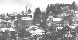 The Colt Gun Mill on the right.