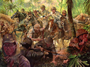 26th Cavalry Regiment charge on the Bataan Peninsula in World War II