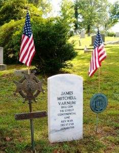 James Mitchell Varnum Marker in Ohio