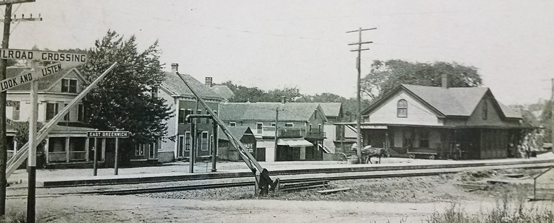 [FEATURE ARTICLE] A Look Back at the East Greenwich Railroad Station