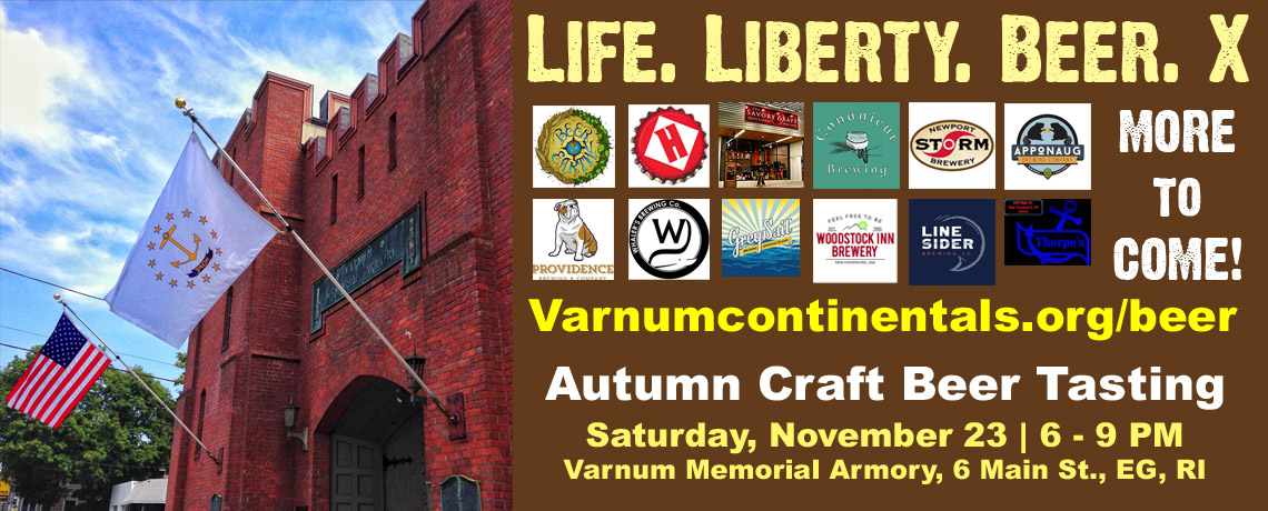 LIFE. LIBERTY. BEER. 10th Annual Craft Beer Tasting Fundraiser (Nov. 23, 2019)