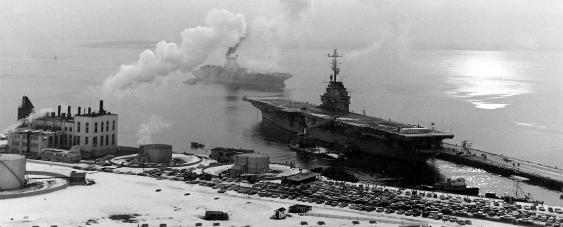 [FEATURE ARTICLE] Quonset Point and Its Aircraft Carriers