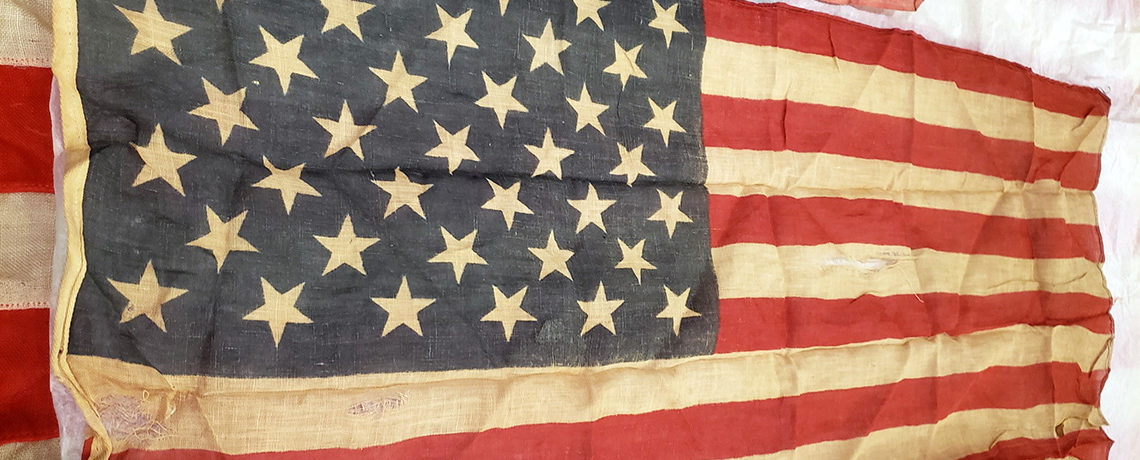[FEATURED EXHIBIT] VERY RARE 39-Star American Flag