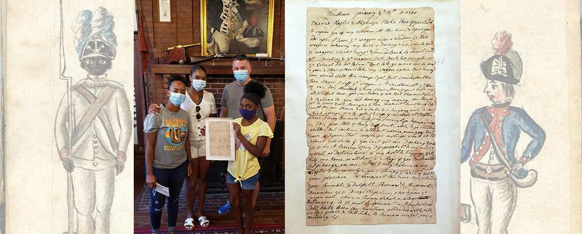 [FEATURE ARTICLE] Thomas Nichols Letter at the Varnum Armory … a Stunning 18th-Century African American Artifact
