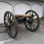 Historic Canons and Artillery at the Varnum Memorial Armory