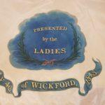 1843 Silk Flag from the Wickford Volunteers