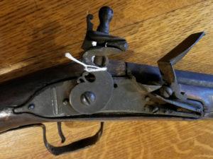 Fowler musket at the Varnum Memorial Armory